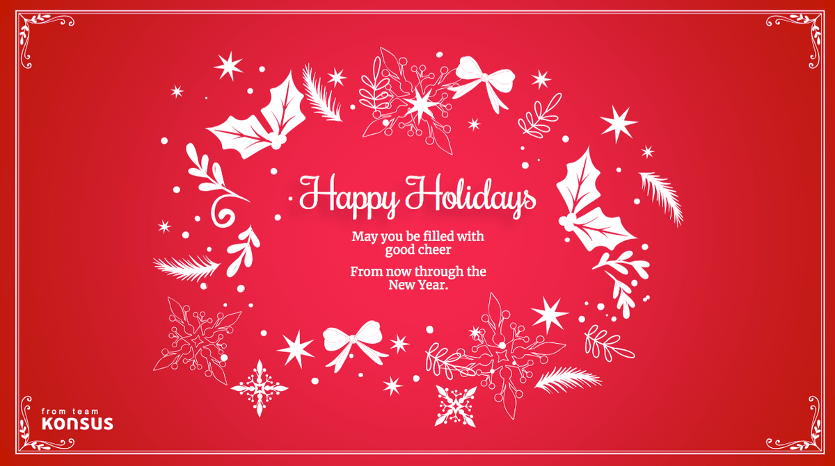 Happy Holiday card 3