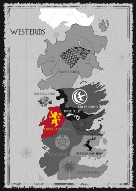 House Lannister Map