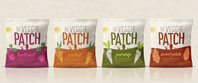 The Veggie Patch packaging
