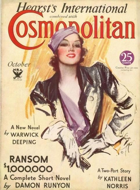 Cosmopolitan 1930 cover