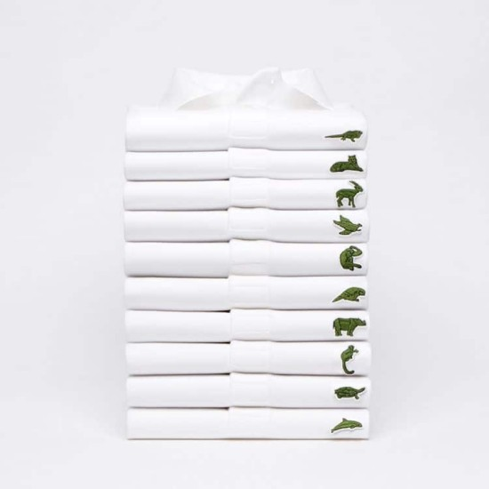 Lacoste Swaps the Croc for Ten Endangered Species