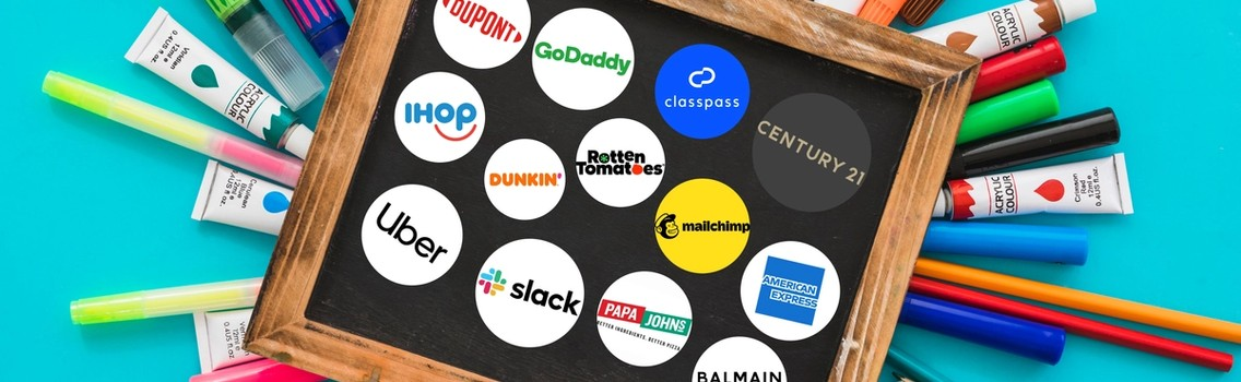 Collection of 50 Big Companies that changed their logo in 2018