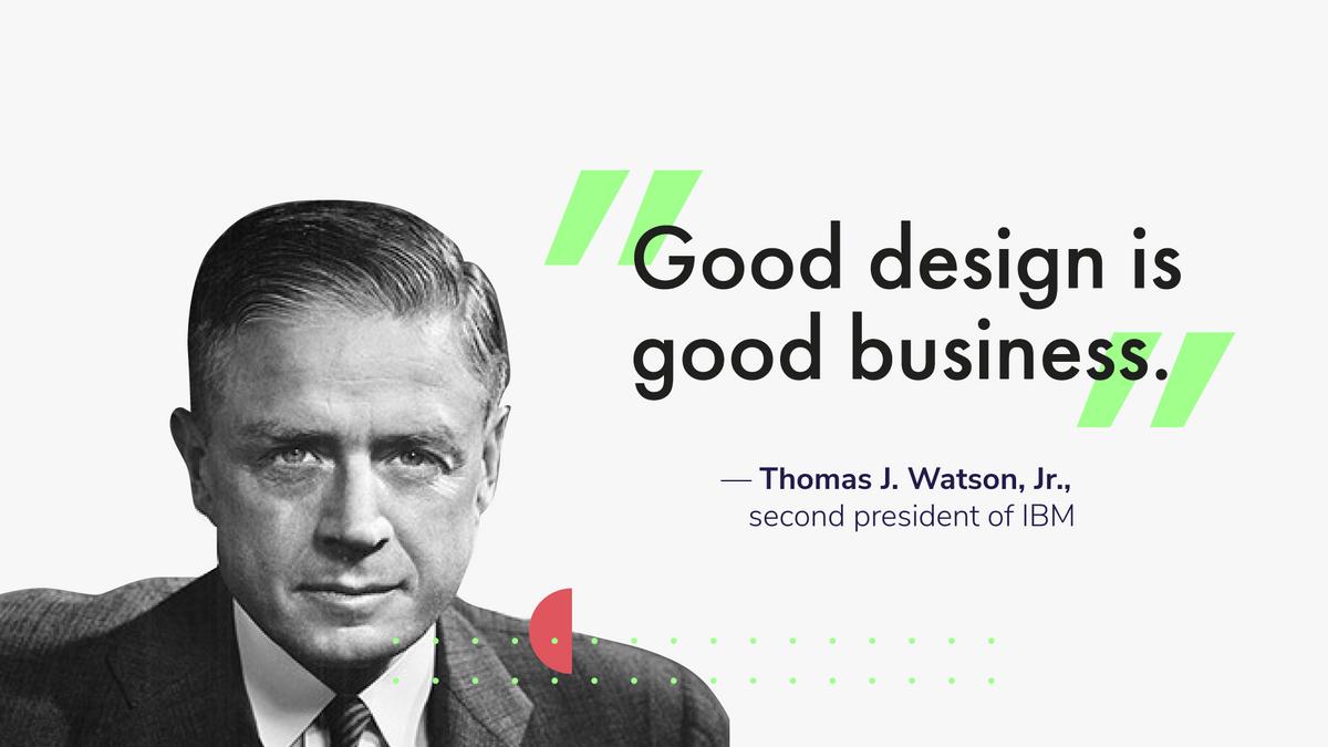 Thomas J. Watson, Jr., second president of IBM