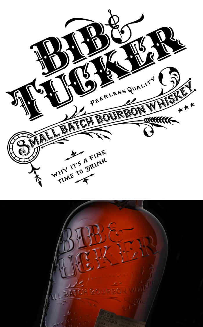 BIB & Tucker bourbon brand style guide