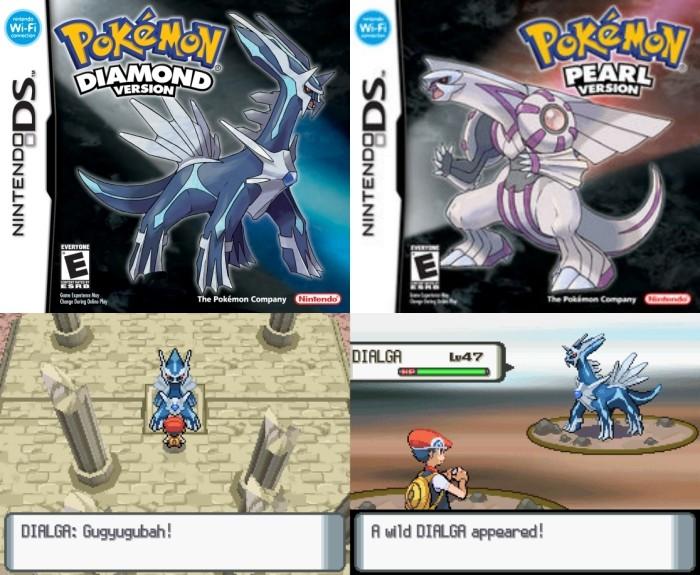 Pokemon Diamond ans Pearl