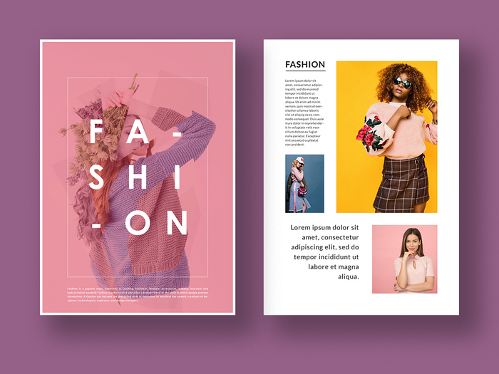 Magazine & Brochure Design