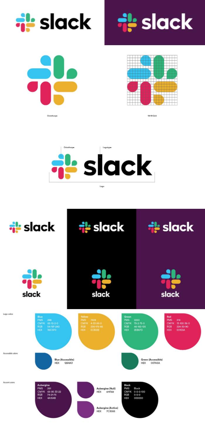 Slack brand style guide