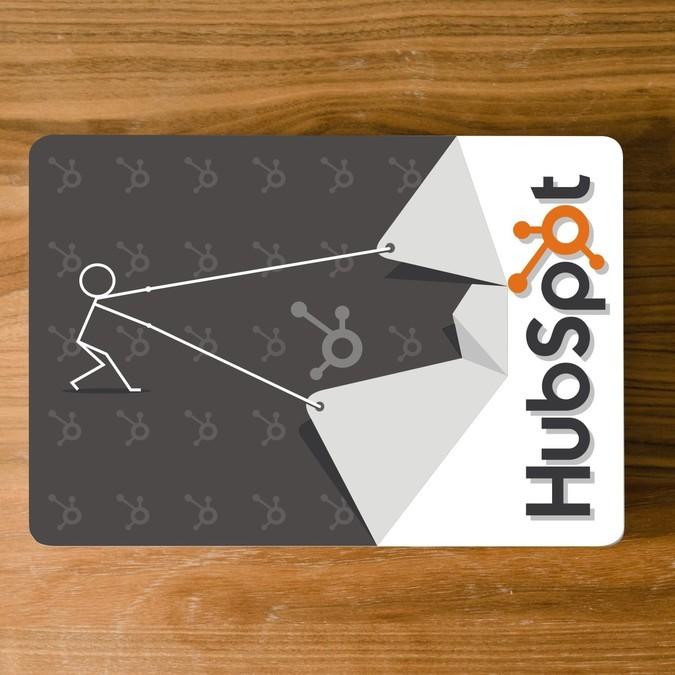 Custom Macbook Pro Skin Design for HubSpot