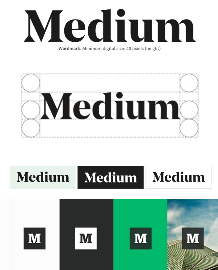 Medium brand style guide
