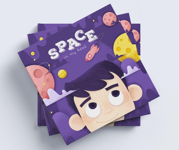 Playful book cover sample