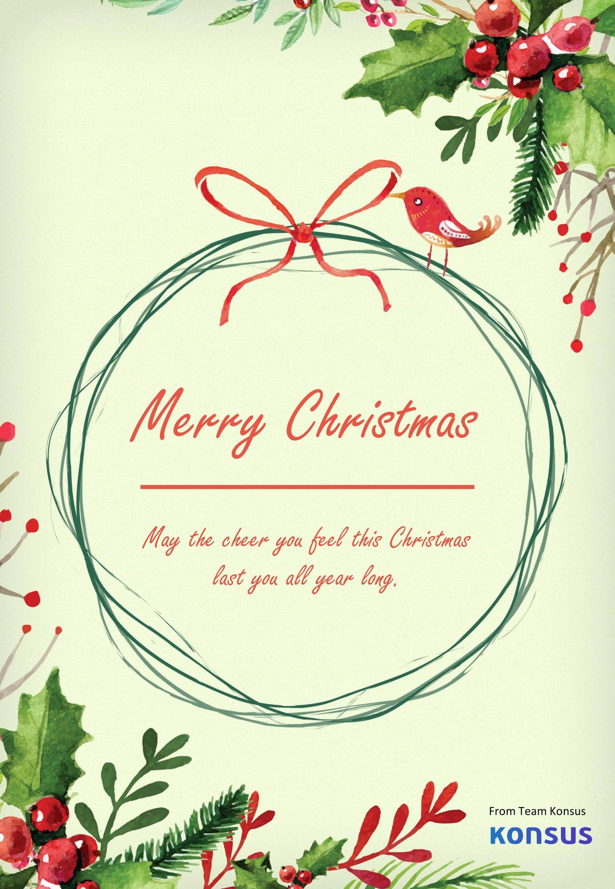 Merry Christmas Card 3