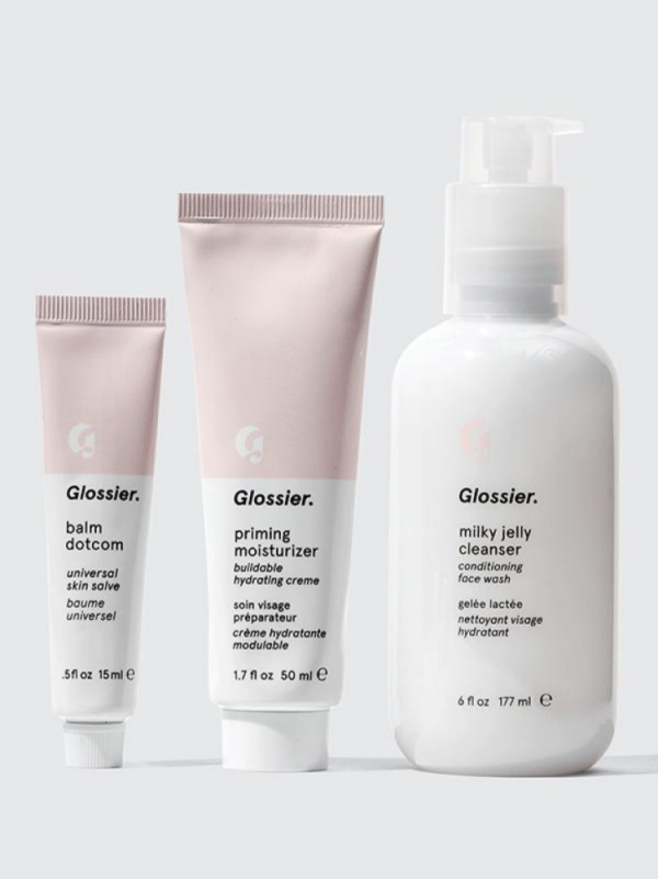 The Glossier packaging