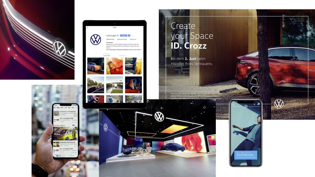 Volkswagen new brand design 2019