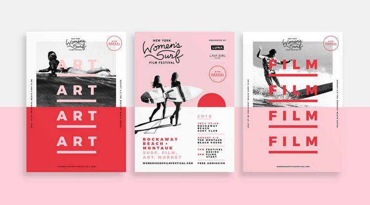 Women's Surf Film Festival poster