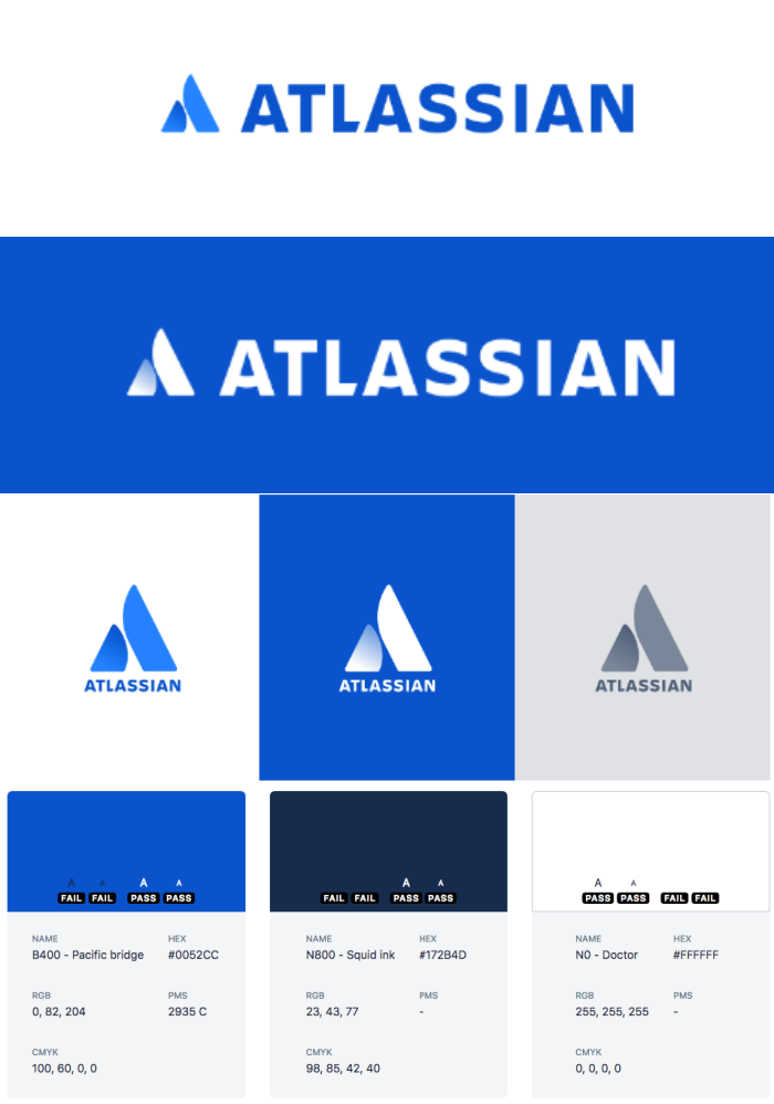 Atlassian brand style guide