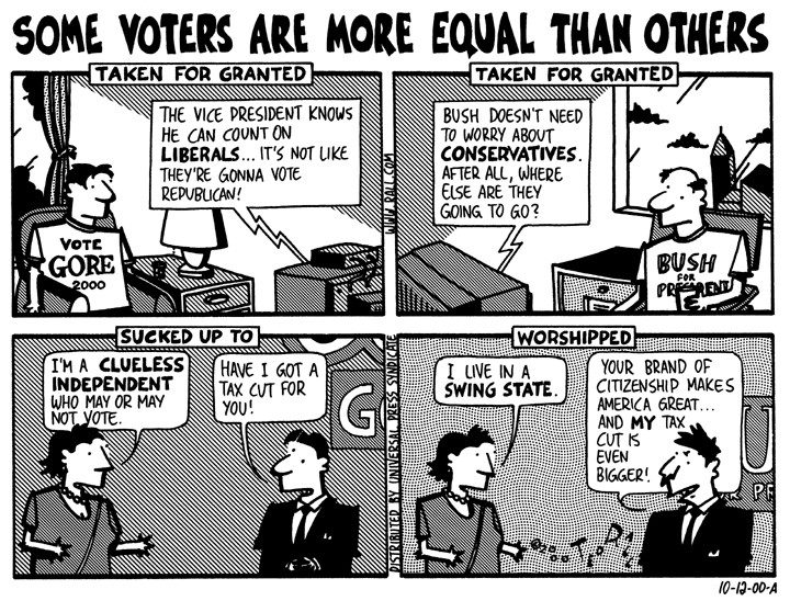Political cartoons in 2000s by Ted Rall