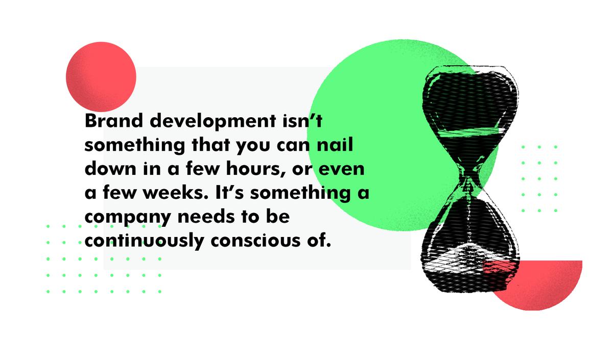 Brand development tip