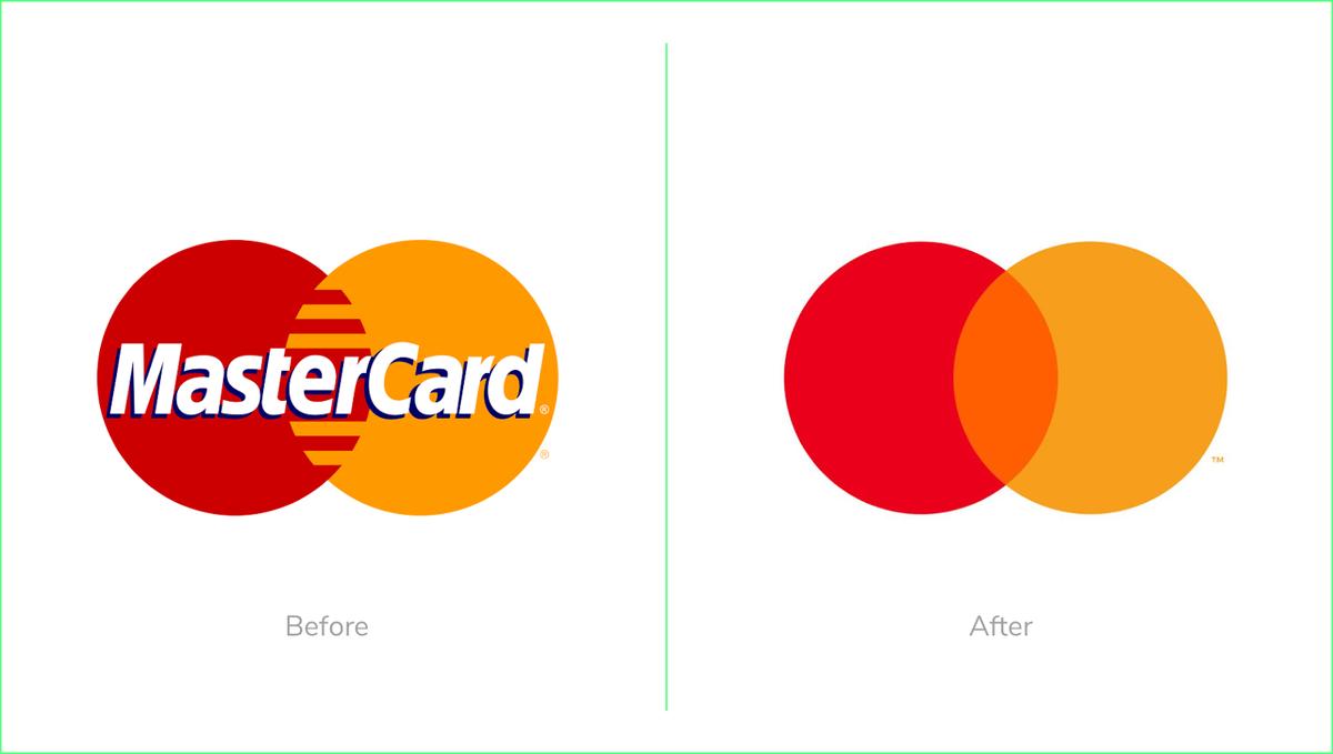 Mastercard rebrand 2019 new circles logo