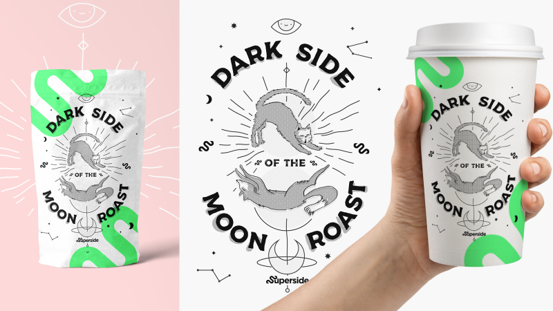 Superside Coffee branding