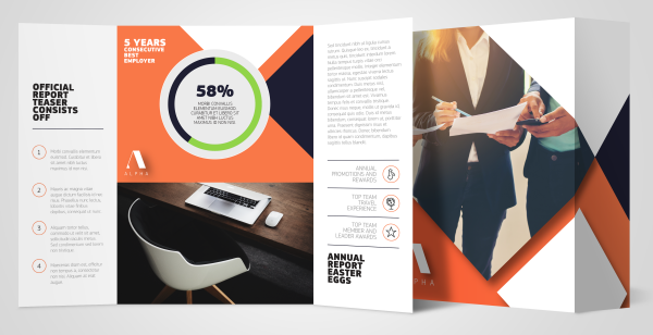 Corporate brochure sample