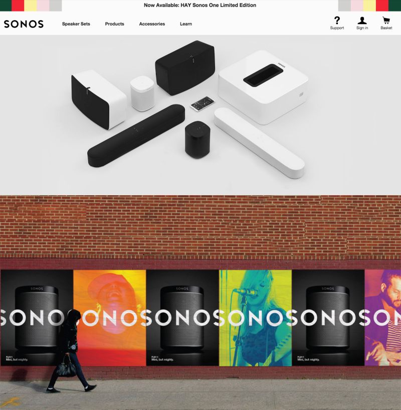 Sonos brand identity