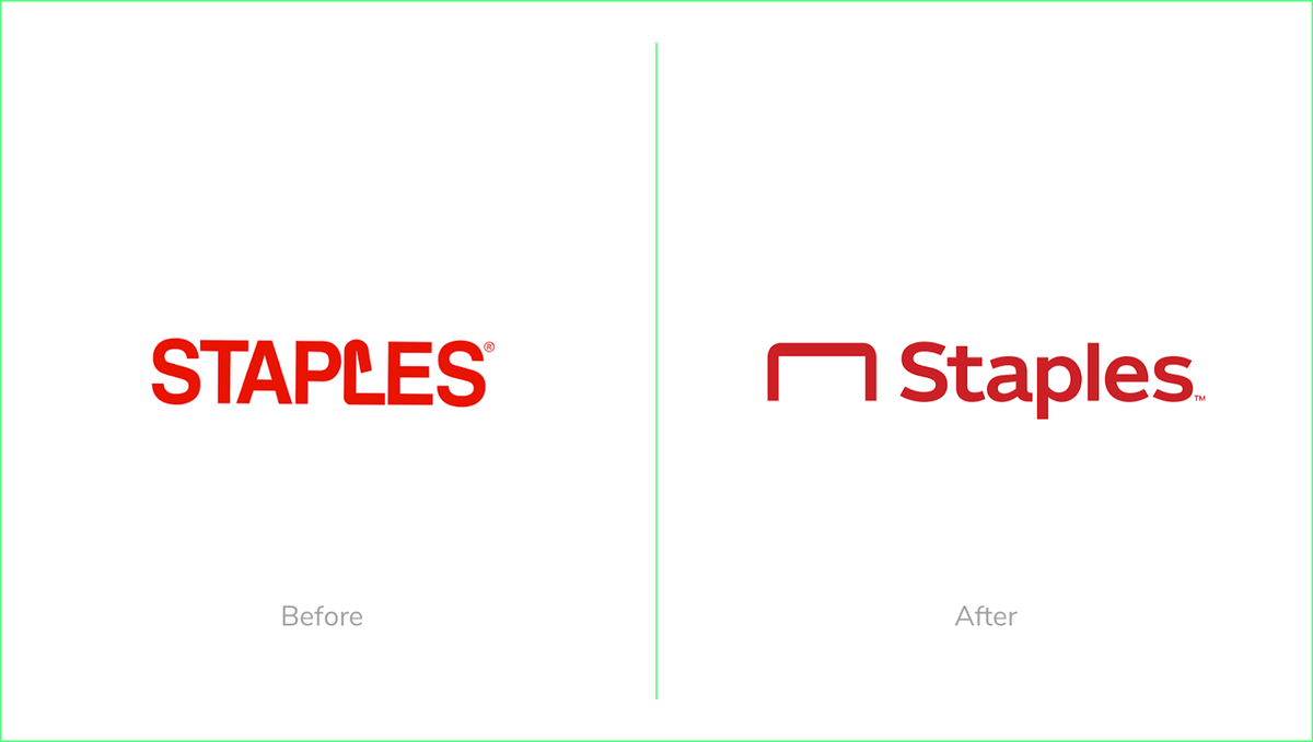 New Staples logo 2019