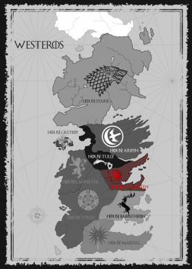 House Targaryen Map