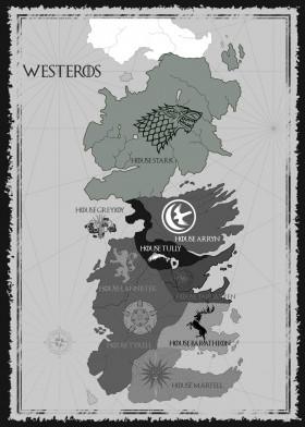 House Stark Map