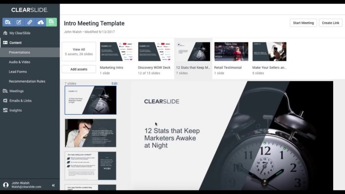 Preview of ClearSlide