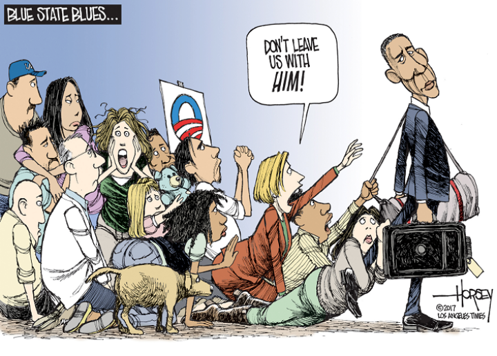 Political cartoons in 2016 by David Horsey