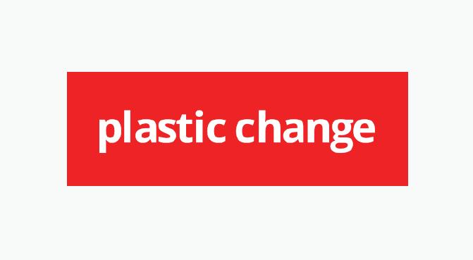 Plastic Change logo design