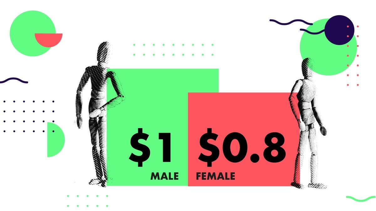 pay gap female designers