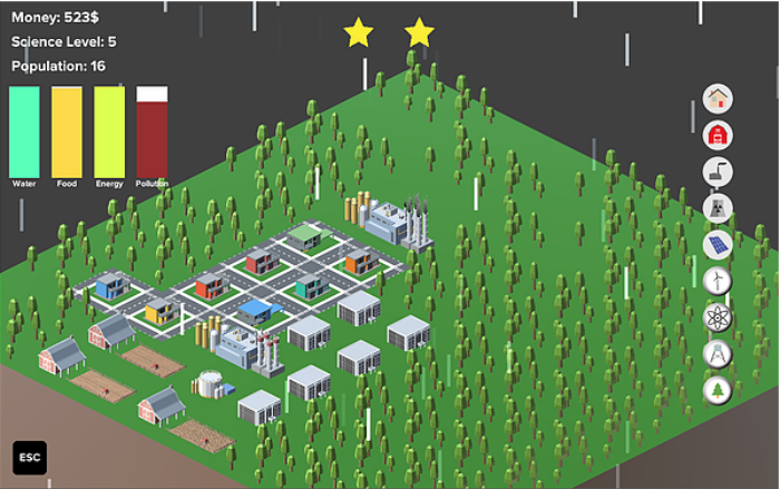 Operation Sustain – A Video Game That Teaches Kids About Climate Change, Game preview