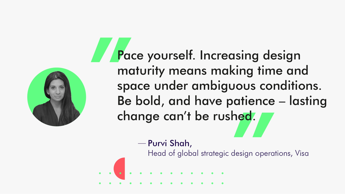 Purvi Shah, Design Operations at Visa