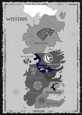 House Tully Map