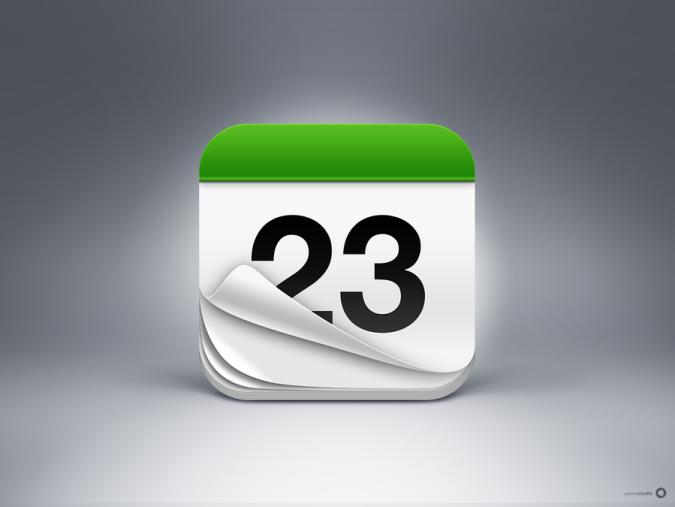 iPhone Calendar App Icon Redesign