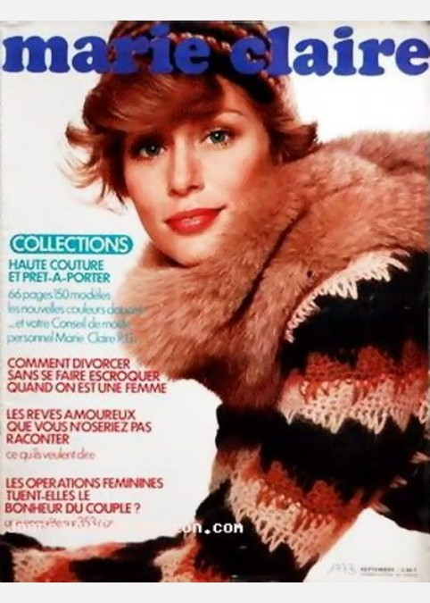 Marie Claire 1970 cover