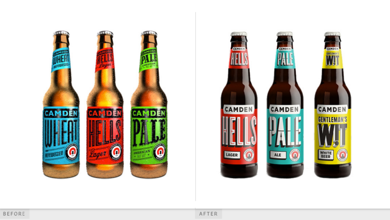 Camden Town Brewery design