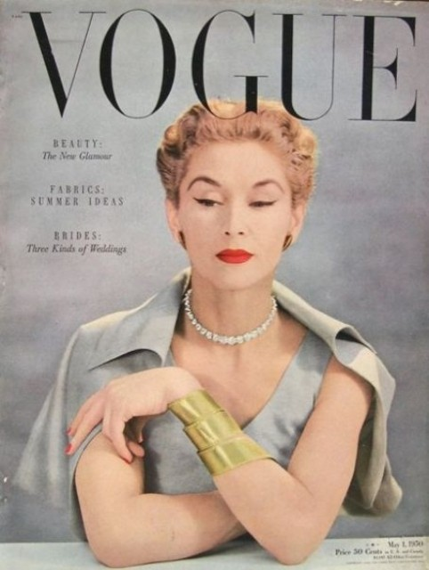 Vogue 1950 cover