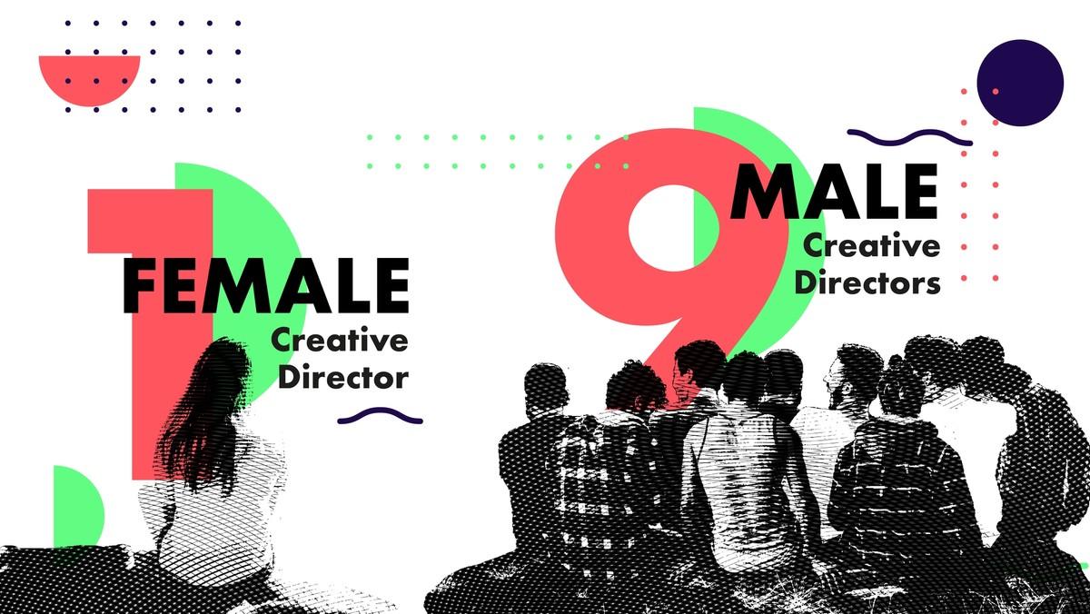 female creative directors 11%