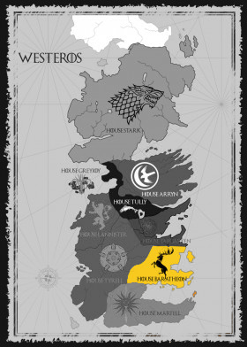 House Baratheon Map