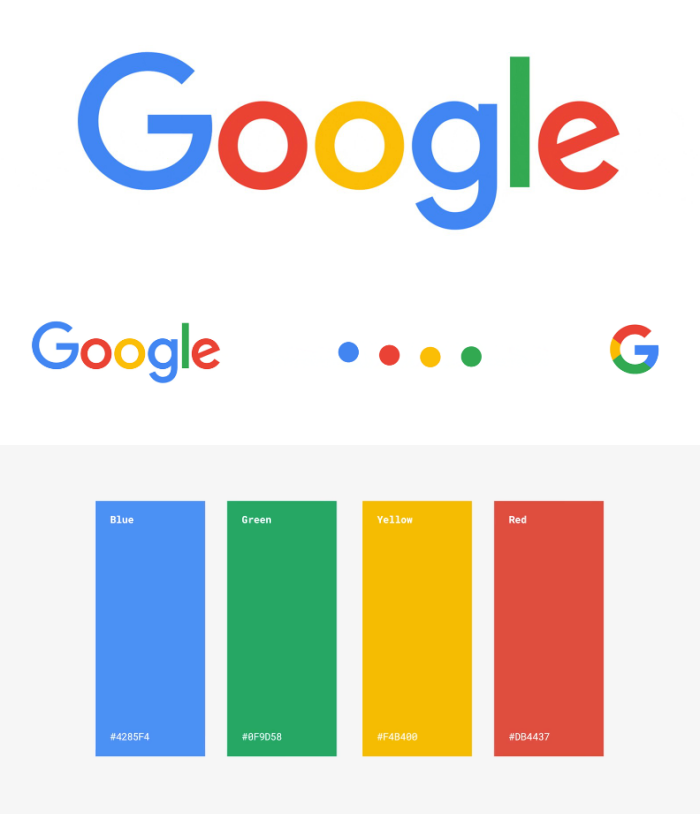 Google brand style guide