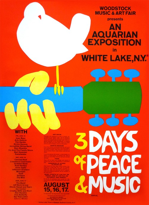 Woodstock 1969 poster