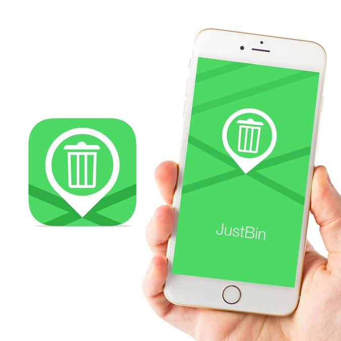 JustBin Location App Icon