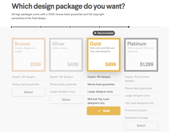 Design package options