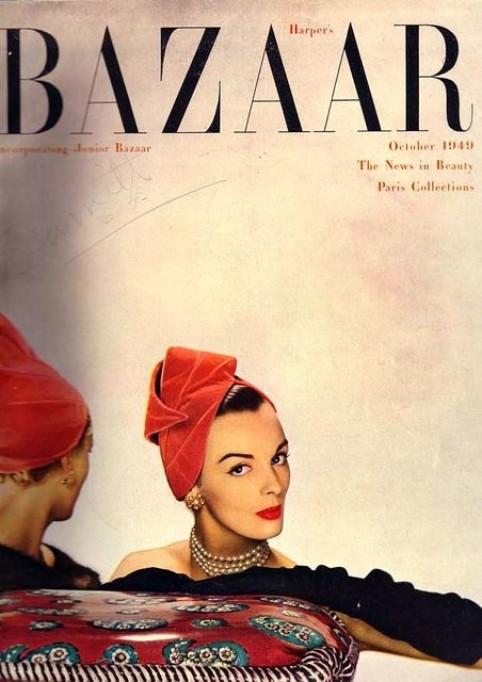 Harper Bazar 1940 cover