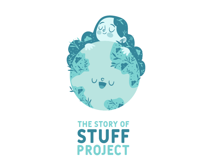The Story of Stuff logo redesign by Superside