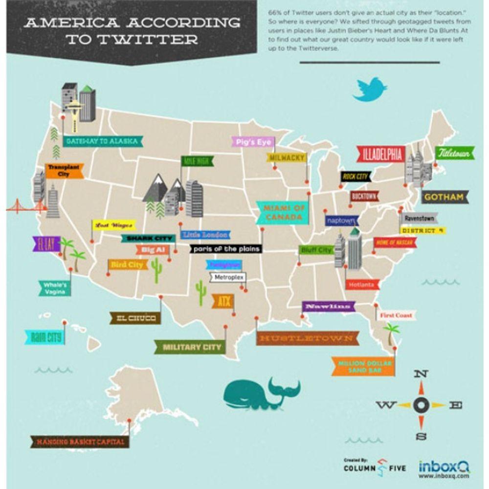 Geo maps infographic example