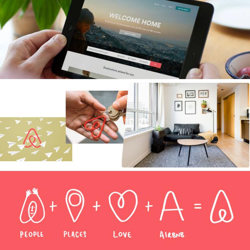 Airbnb brand identity