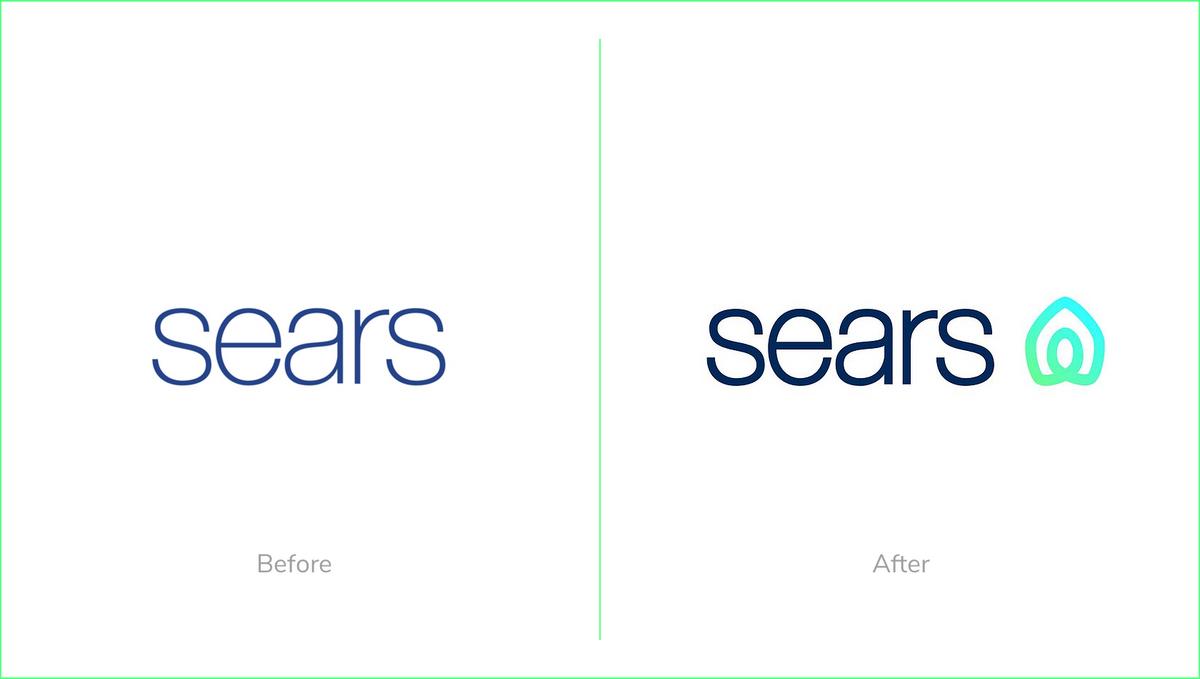 Sears rebrand 2019 logo